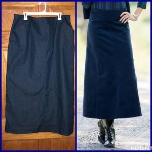 🆕 Dark Denim Maxi Skirt Sz 20